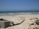 חיפה קצה רחוב קצנשטיין הזרמה קבועה לים בניגוד להוראות החוק (צילום:ניצן מתן)
