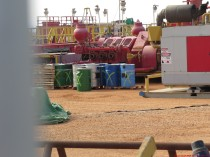 אתר הפקה ניסיוני של חברת ג'ני ברמת הגולן. באתר מבוצע קידוח ניסיוני להפקת נפט במרחק של כ-8 קילומטרים מהכינרת. החשש הוא שתקלה באתר תגרום לנגר עילי מזוהם שיגיע לכינרת